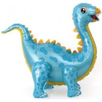 Динозавр Стегозавр голубой ходячая фигура 99 см