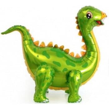 Динозавр Стегозавр зеленый ходячая фигура 99 см