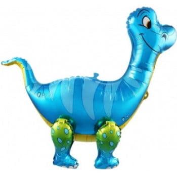 Ходячая фигура Динозавр Брахиозавр Синий