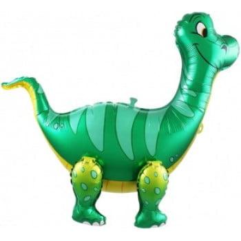 Ходячая фигура Динозавр Брахиозавр Зеленый