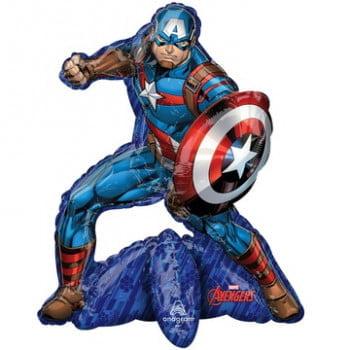 Ходячая фигура Капитан Америка (66см)