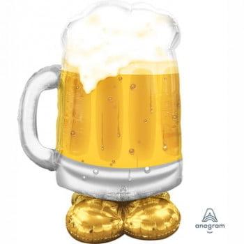 Ходячий шар Кружка пива (124 см)