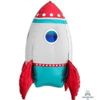 Ходячий шар Ракета (53см)