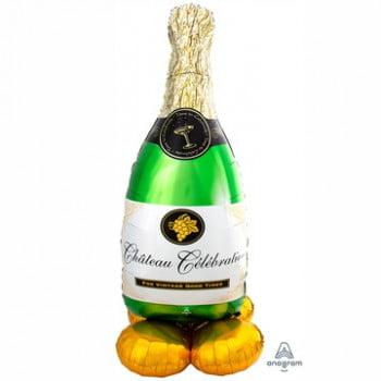 Шар фольгированный большой Шампанское