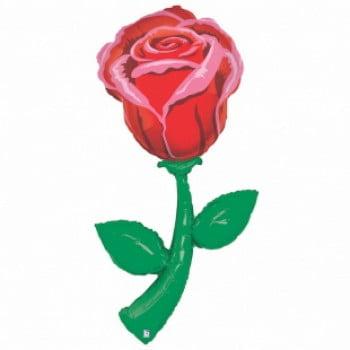 Шар Роза большая 152 см