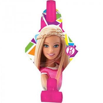 Язычки-гудки Барби 8 штук