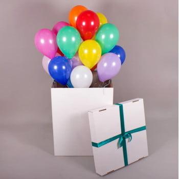 Коробка с шарами сюрприз