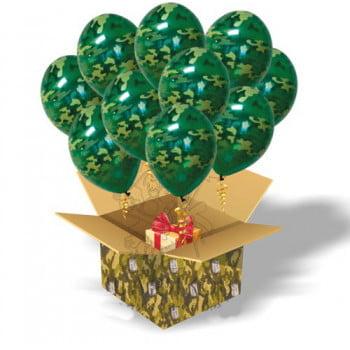 Коробка с шариками Камуфляж