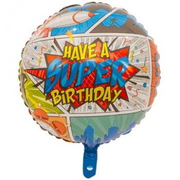 HAVE A SUPER BIRTHDAY Комиксы