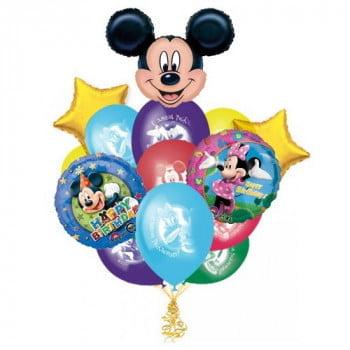Букет шариков Микки Маус
