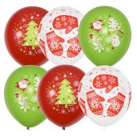 Воздушные шарики С новым Годом