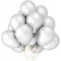 Облако белых шариков