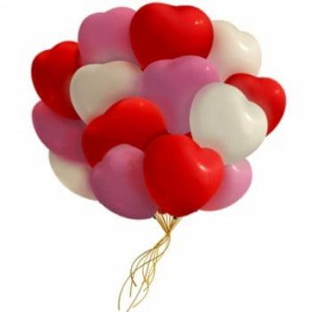 Облако шариков сердечек Ассорти