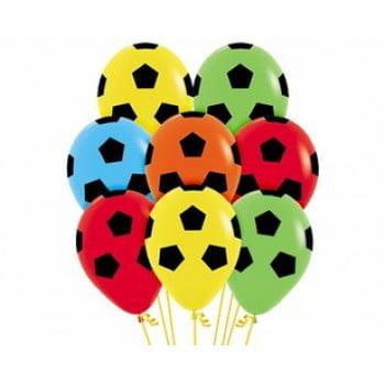 Облако шариков Футбольный мяч разноцветные