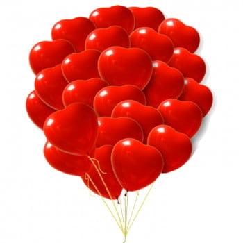 Сердца  премиум  41 см большие