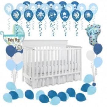 Пакет оформления воздушными шарами Рождение мальчика