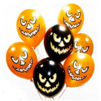 Шарики на хэллоуин