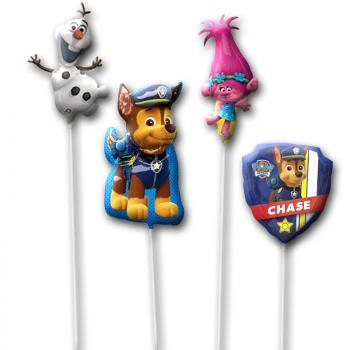 Шары на палочке набор Щенячий патруль и Олаф