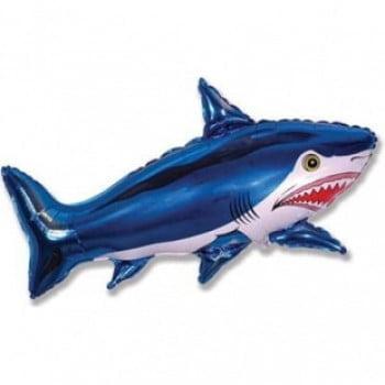 Шарик на палочке Акула