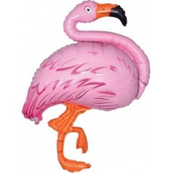 Шарик на палочке Фламинго