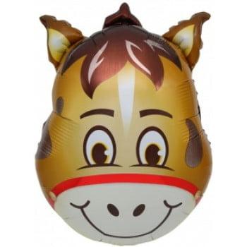 Шарик на палочке Голова лошади