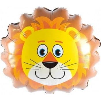Шарик на палочке Голова Льва