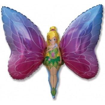 Шарик на палочке Леди Бабочка