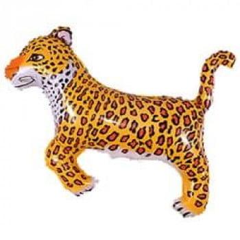 Шарик на палочке Леопард