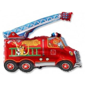 Шарик на палочке Пожарная машина