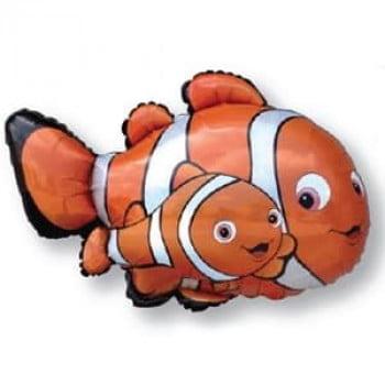 Шарик на палочке Рыба клоун