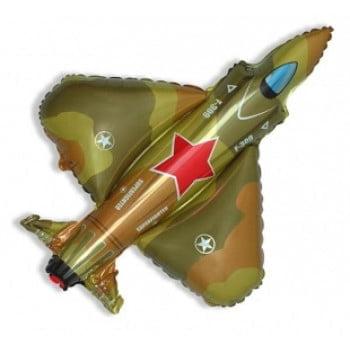 Шарик на палочке Самолет военный