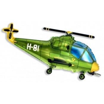 Шарик на палочке Вертолет военный