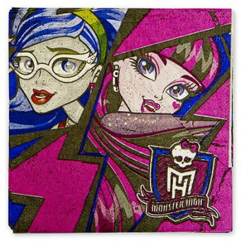 Салфетки Monster High