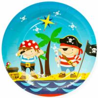 Тарелки 23 см Пираты, 6 шт.