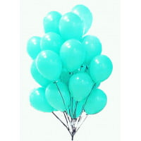 Воздушные шары Тиффани/бирюза