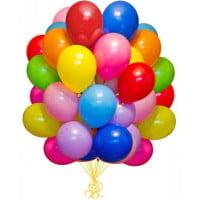 Шарики Матовые Разноцветные (30см)