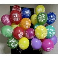 Шары День Рождения ассорти (30 см)